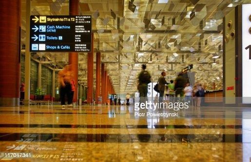 Singapore Changi Airport.