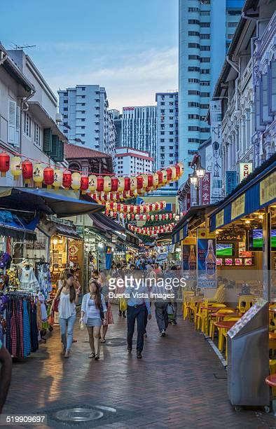 Singapore, Chinatown.