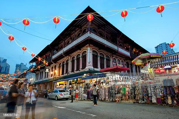 CONTENT] Singapore chinatown street night market