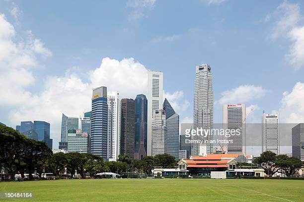 Singapore city skyline, Central Business district