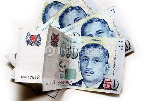Singapore Dollars Bank Notes Stock Photo   Thinkstock