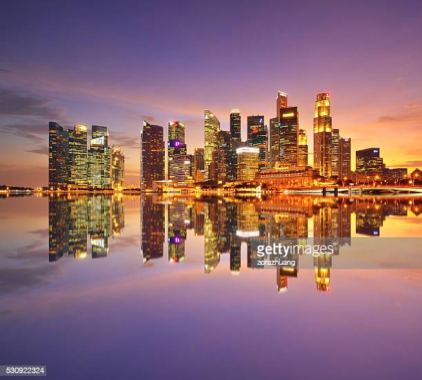 Quartier financier de Singapour