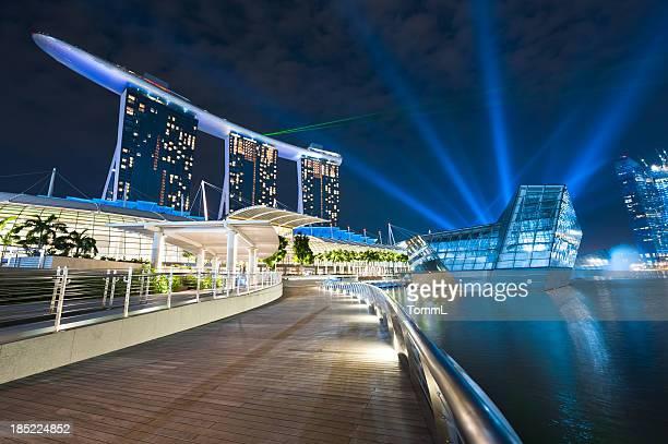Singapur Laser-Show