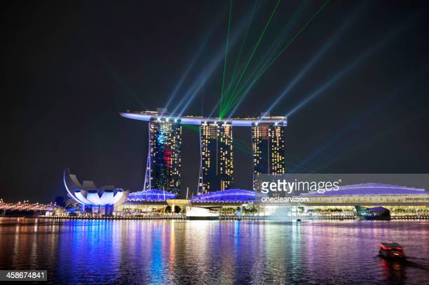 Singapore Night Light Show