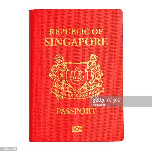 Singapore Passport (Isolated)