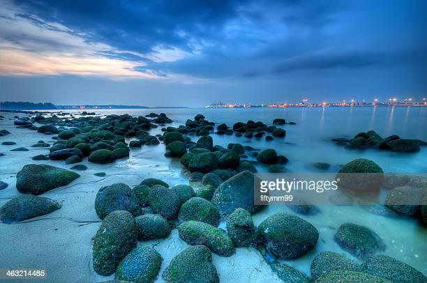 Singapore - Punggol Beach - alien eggs