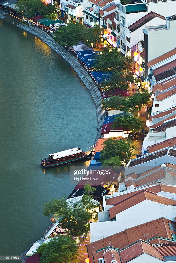Singapore river and Boat Quay