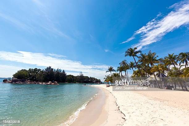 Singapore, Sentosa Island, Palawan Beach.