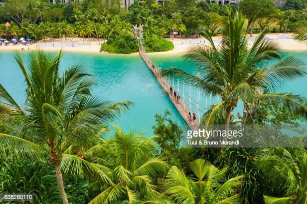 Singapore, Sentosa Island, Palawan Beach