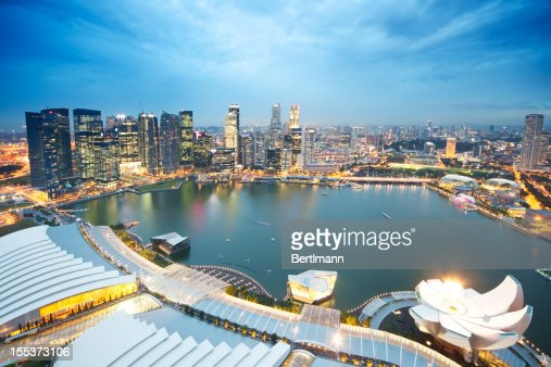 Singapore Skyline - Marina Bay