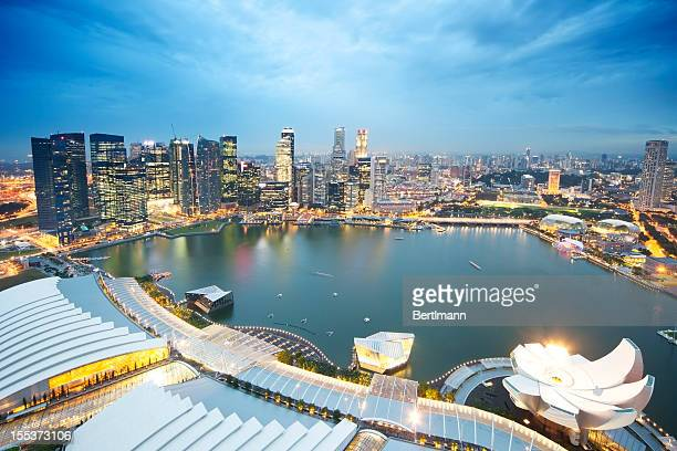 Singapore Skyline - Marina Bay