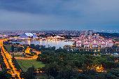 Singapore Sports Hub, Indoor stadium and Tanjung Rhu Private Residence