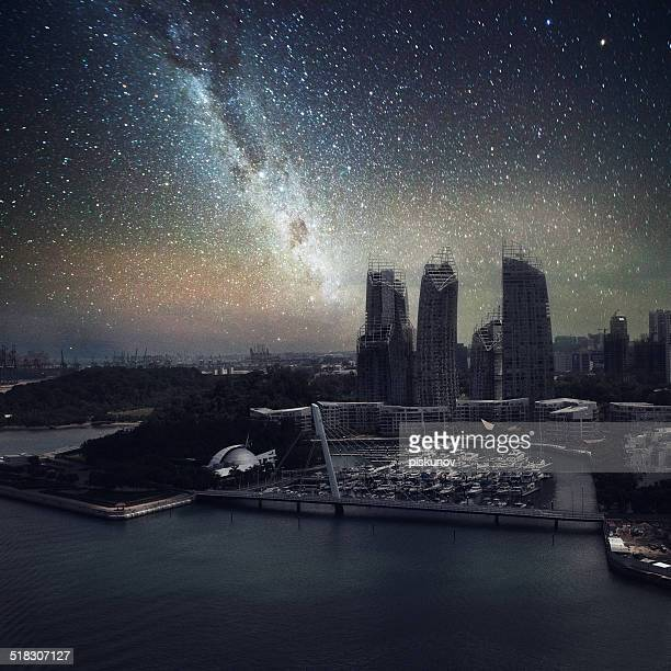 Singapore without Night Lights
