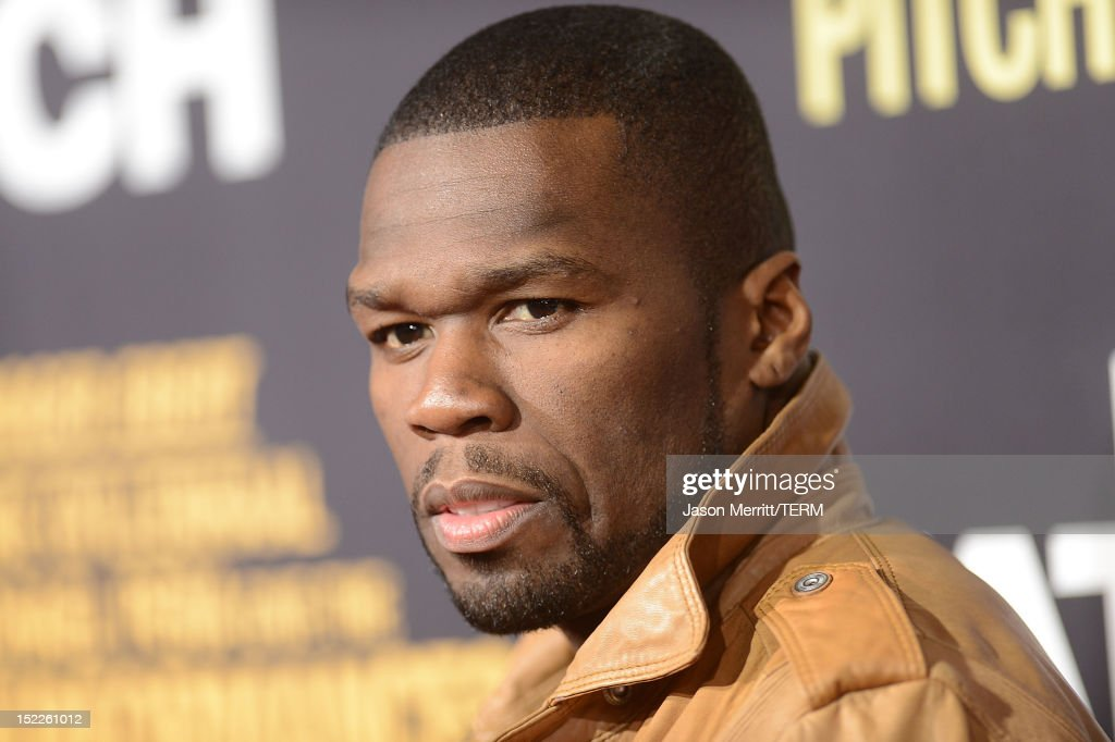 Singer '<a gi-track='captionPersonalityLinkClicked' href=/galleries/search?phrase=50+Cent+-+Rapper&family=editorial&specificpeople=215363 ng-click='$event.stopPropagation()'>50 Cent</a>' Curtis James Jackson arrives at the premiere of Open Road Films' 'End of Watch' at Regal Cinemas L.A. Live on September 17, 2012 in Los Angeles, California.