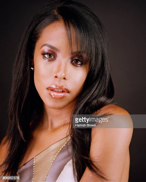 Singer Aaliyah is photographed on May 23 2001 in London England