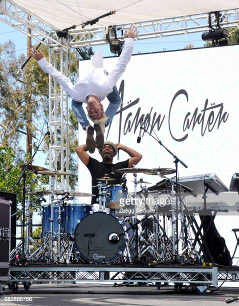 Singer Aaron Carter performs at 1027 KIIS FM's 2017 Wango Tango at StubHub Center on May 13 2017 in Carson California