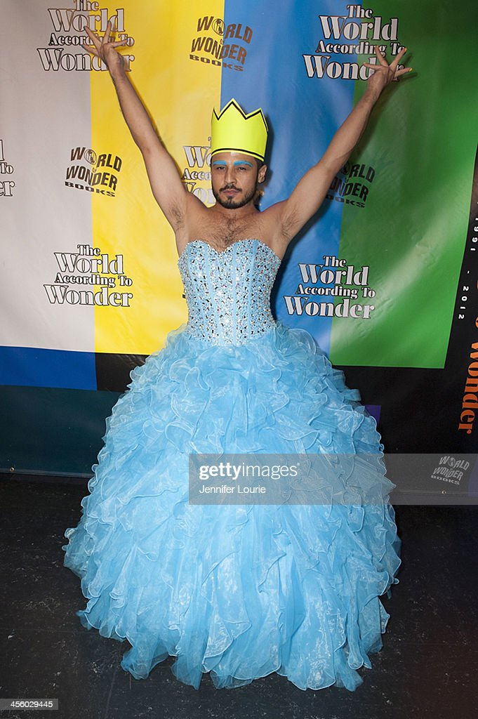 Singer AB SOTO attends the 2013 World of Wonder Holiday Party and 1st Annual WOWie Awards at The Globe Theatre on December 12, 2013 in Universal City, California.