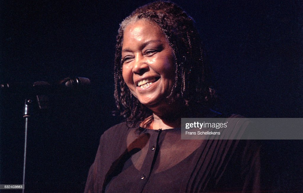 Singer Abbey Lincoln performs on July 11th 1999 at the North Sea Jazz Festival in the Hague, Netherlands.