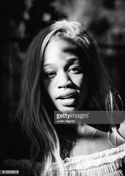Singer ABRA is photographed for We Love Green Festival on June 10 2017 in Paris France
