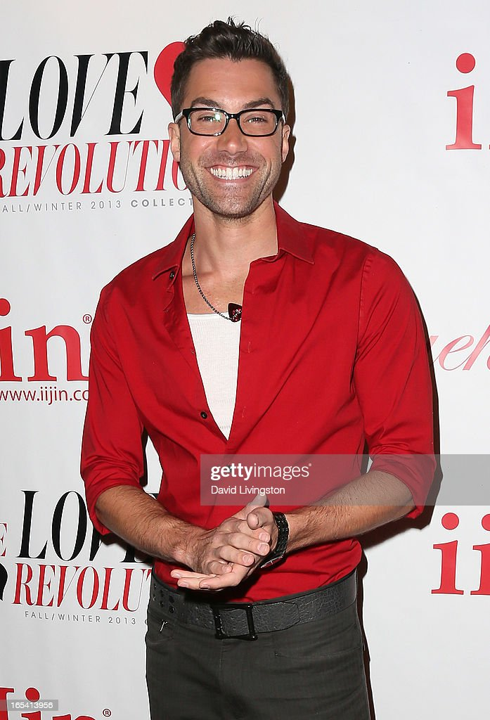 Singer Ace Young attends iiJin's Fall/Winter 2013 'The Love Revolution' fashion show at Avalon on April 3, 2013 in Hollywood, California.