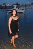 Singer Achinoam Nini also known as Noa attends the Day 1 of Ischia Global Film Music Fest 2014 on July 12 2014 in Ischia Italy