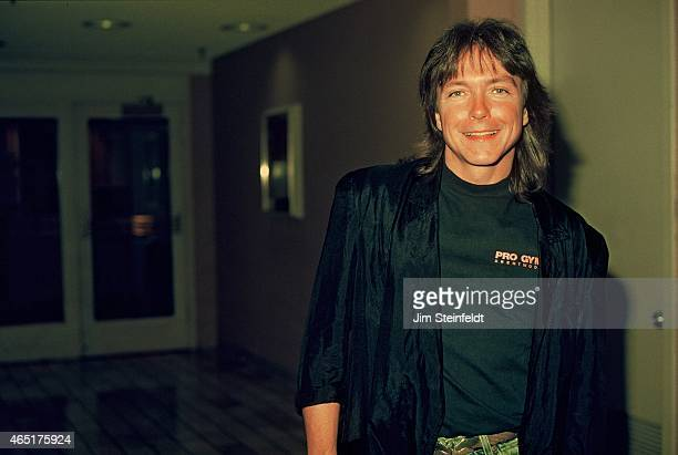 Singer actor David Cassidy poses for a portrait in Minneapolis Minnesota on July 1 1990