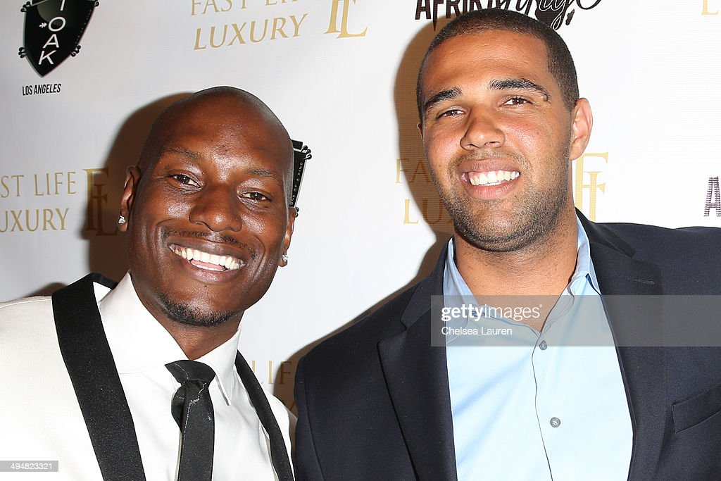 Singer / actor <a gi-track='captionPersonalityLinkClicked' href=/galleries/search?phrase=Tyrese&family=editorial&specificpeople=206177 ng-click='$event.stopPropagation()'>Tyrese</a> Gibson (L) and Prophet Walker arrive at the For Our Girls of Nigeria benefit concert hosted by singer/actor <a gi-track='captionPersonalityLinkClicked' href=/galleries/search?phrase=Tyrese&family=editorial&specificpeople=206177 ng-click='$event.stopPropagation()'>Tyrese</a> Gibson at 1OAK on May 30, 2014 in West Hollywood, California.