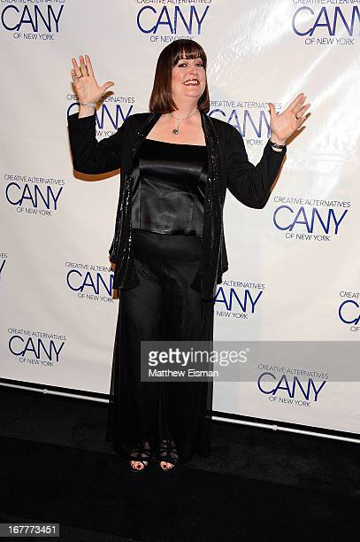 Singer/ actress Ann Hampton Callaway attends the 2013 Creative Alternatives of New York 'The Pearl Gala' at The Edison Ballroom on April 29 2013 in...
