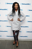 Singer/ actress Brandy visits the SiriusXM Studios on February 9 2016 in New York City