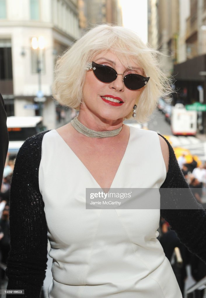 Singer, Actress <a gi-track='captionPersonalityLinkClicked' href=/galleries/search?phrase=Debbie+Harry&family=editorial&specificpeople=209145 ng-click='$event.stopPropagation()'>Debbie Harry</a> attends the 3rd annual amfAR Inspiration Gala New York at The New York Public Library - Stephen A. Schwarzman Building on June 7, 2012 in New York City.