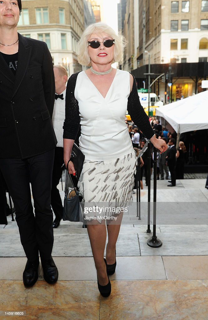 Singer, Actress Debbie Harry attends the 3rd annual amfAR Inspiration Gala New York at The New York Public Library - Stephen A. Schwarzman Building on June 7, 2012 in New York City.