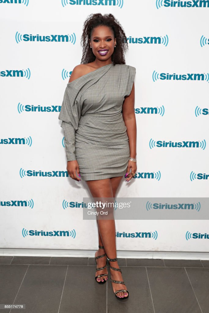Singer/ actress Jennifer Hudson visits the SiriusXM Studios on September 28, 2017 in New York City.