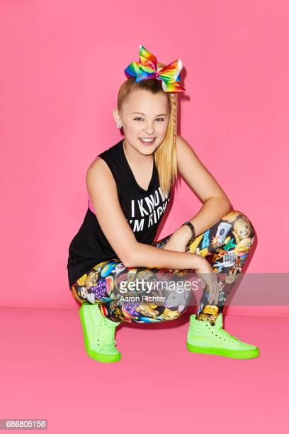Singer actress Jojo Siwa is photographed for Tiger Beat on March 17 2017 at the Sugar Factory in New York City COVER IMAGE ON EMBARGO UNTIL JULY 13...