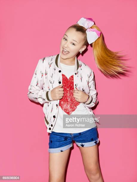 Singer actress Jojo Siwa is photographed for Tiger Beat on March 17 2017 at the Sugar Factory in New York City ON EMBARGO UNTIL JULY 13 2017