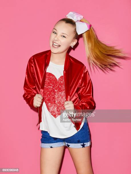 Singer actress Jojo Siwa is photographed for Tiger Beat on March 17 2017 at the Sugar Factory in New York City PUBLISHED IMAGE ON EMBARGO UNTIL JULY...