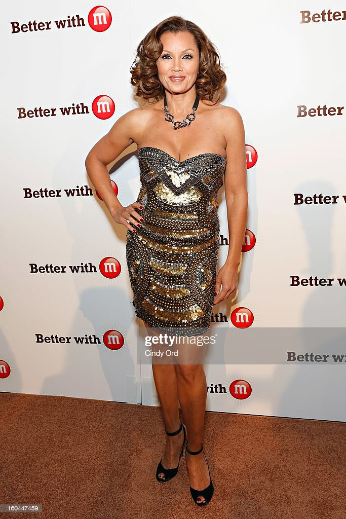 Singer/ actress <a gi-track='captionPersonalityLinkClicked' href=/galleries/search?phrase=Vanessa+Williams&family=editorial&specificpeople=201691 ng-click='$event.stopPropagation()'>Vanessa Williams</a> attends the M&M's Better With M Party at The Foundry on January 31, 2013 in New Orleans, Louisiana.