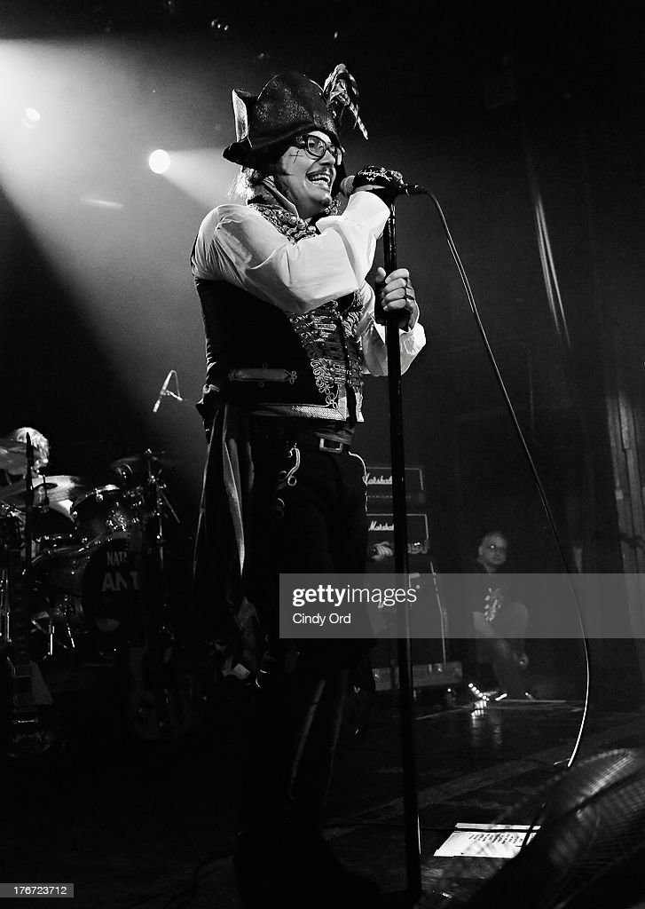 Singer Adam Ant performs at Irving Plaza on August 17, 2013 in New York City.