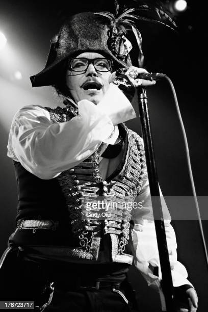 Singer Adam Ant performs at Irving Plaza on August 17 2013 in New York City