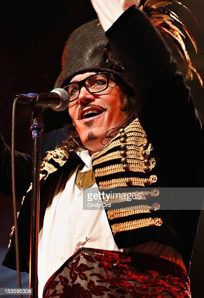 Singer Adam Ant performs at the Best Buy Theater on October 6 2012 in New York City