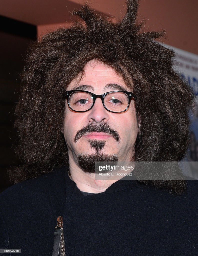 Singer Adam Duritz arrives to the premiere of Salient Media's 'Freeloaders' at Sundance Cinema on January 7, 2013 in Los Angeles, California.