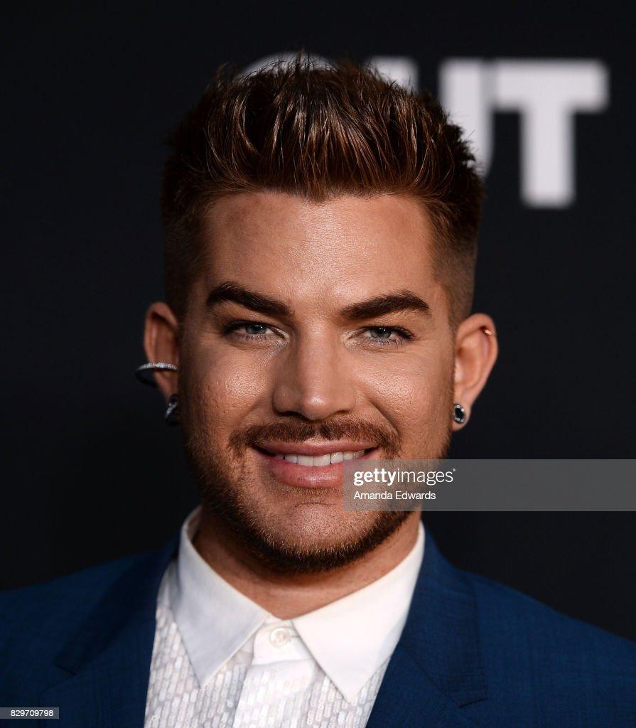 Singer Adam Lambert arrives at OUT Magazine's Inaugural POWER 50 Gala & Awards Presentation at Goya Studios on August 10, 2017 in Los Angeles, California.