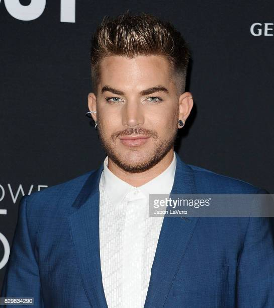 Singer Adam Lambert attends OUT Magazine's inaugural POWER 50 gala and awards presentation at Goya Studios on August 10 2017 in Los Angeles California