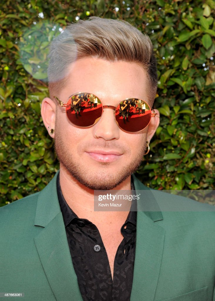 Singer <a gi-track='captionPersonalityLinkClicked' href=/galleries/search?phrase=Adam+Lambert&family=editorial&specificpeople=5706674 ng-click='$event.stopPropagation()'>Adam Lambert</a> attends the 2014 iHeartRadio Music Awards held at The Shrine Auditorium on May 1, 2014 in Los Angeles, California. iHeartRadio Music Awards are being broadcast live on NBC.