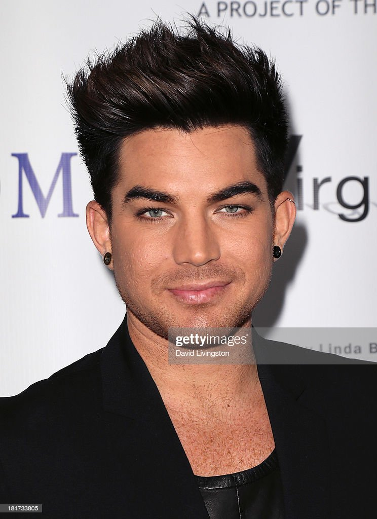 Singer <a gi-track='captionPersonalityLinkClicked' href=/galleries/search?phrase=Adam+Lambert&family=editorial&specificpeople=5706674 ng-click='$event.stopPropagation()'>Adam Lambert</a> attends the premiere of 'Bridegroom' at the AMPAS Samuel Goldwyn Theater on October 15, 2013 in Beverly Hills, California.