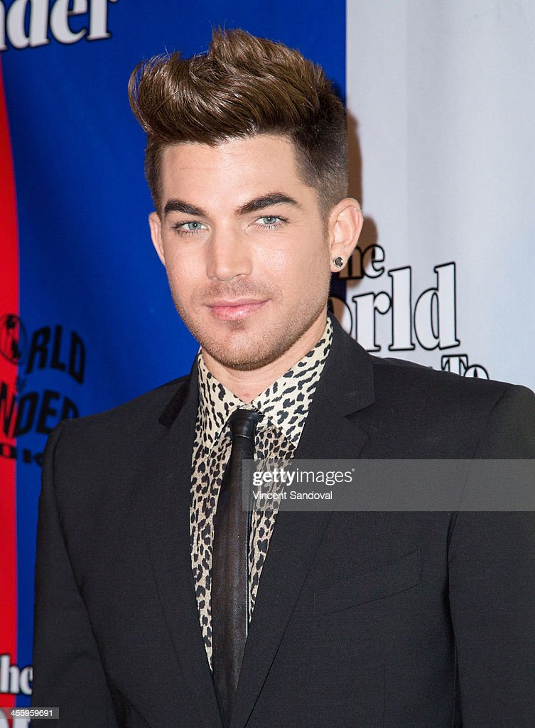 Singer <a gi-track='captionPersonalityLinkClicked' href=/galleries/search?phrase=Adam+Lambert&family=editorial&specificpeople=5706674 ng-click='$event.stopPropagation()'>Adam Lambert</a> attends the World of Wonder's 1st Annual WOWie Awards at The Globe Theatre on December 12, 2013 in Universal City, California.