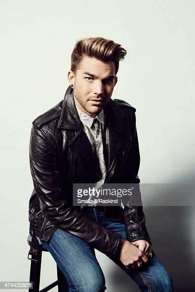 Singer Adam Lambert poses for a portrait at the 1027 KIIS FM's Wango Tango portrait studio for People Magazine on May 9 2015 in Carson California