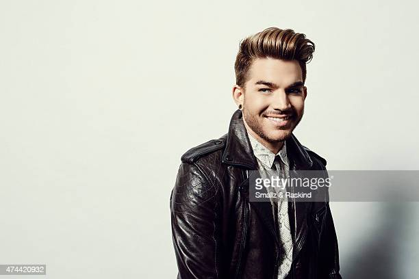 Singer Adam Lambert poses for a portrait at the 1027 KIIS FM's Wango Tango portrait studio for People Magazine on May 9 2015 in Carson California