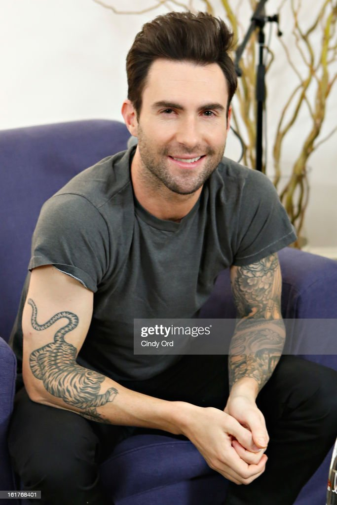 "Danielle Manaro Of ""Elvis Duran And The Morning Show"" Exclusive Interview With Adam Levine"