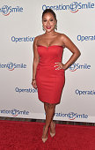 Singer Adrienne Bailon attends Operation Smile's 2015 Smile Gala at the Beverly Wilshire Four Seasons Hotel on October 2 2015 in Beverly Hills...