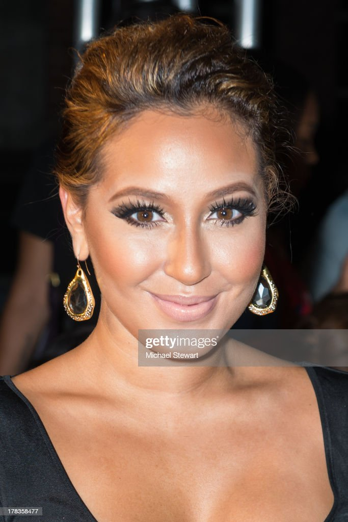 Singer <a gi-track='captionPersonalityLinkClicked' href=/galleries/search?phrase=Adrienne+Bailon&family=editorial&specificpeople=540286 ng-click='$event.stopPropagation()'>Adrienne Bailon</a> attends the 2013 Highline Back To School Teen Fashion Show at the Highline on August 29, 2013 in New York City.